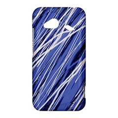 Blue elegant pattern HTC Droid Incredible 4G LTE Hardshell Case