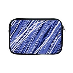 Blue elegant pattern Apple iPad Mini Zipper Cases
