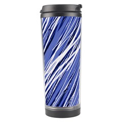 Blue elegant pattern Travel Tumbler