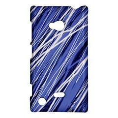Blue elegant pattern Nokia Lumia 720