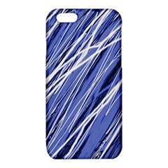 Blue elegant pattern iPhone 6/6S TPU Case