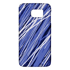 Blue Elegant Pattern Galaxy S6