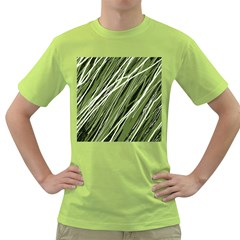 Green decorative pattern Green T-Shirt
