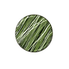 Green decorative pattern Hat Clip Ball Marker (10 pack)