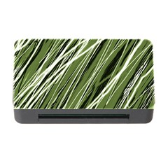 Green Decorative Pattern Memory Card Reader With Cf