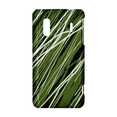 Green decorative pattern HTC Evo Design 4G/ Hero S Hardshell Case
