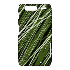 Green decorative pattern Motorola Droid Razr XT912