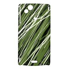 Green decorative pattern Sony Xperia Arc