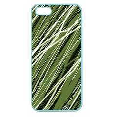 Green decorative pattern Apple Seamless iPhone 5 Case (Color)