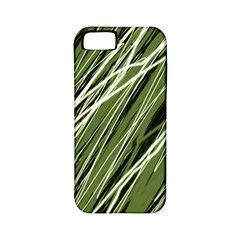Green decorative pattern Apple iPhone 5 Classic Hardshell Case (PC+Silicone)