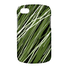 Green decorative pattern BlackBerry Q10