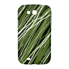 Green decorative pattern Samsung Galaxy Grand GT-I9128 Hardshell Case