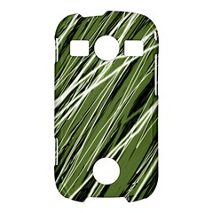 Green decorative pattern Samsung Galaxy S7710 Xcover 2 Hardshell Case