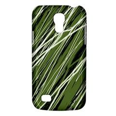 Green decorative pattern Galaxy S4 Mini