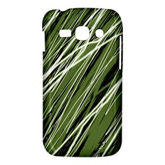 Green decorative pattern Samsung Galaxy Ace 3 S7272 Hardshell Case