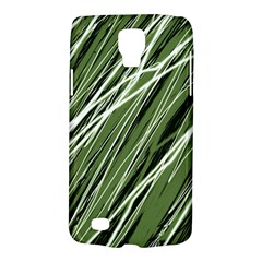 Green decorative pattern Galaxy S4 Active
