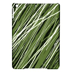 Green decorative pattern iPad Air Hardshell Cases