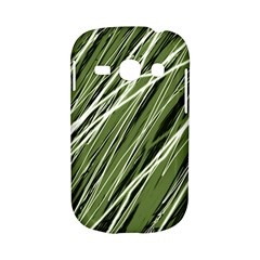 Green decorative pattern Samsung Galaxy S6810 Hardshell Case