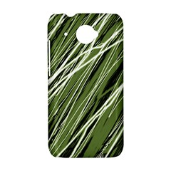 Green decorative pattern HTC Desire 601 Hardshell Case