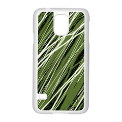 Green Decorative Pattern Samsung Galaxy S5 Case (white)
