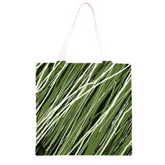Green decorative pattern Grocery Light Tote Bag