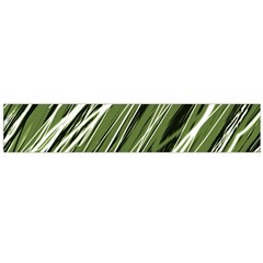 Green decorative pattern Flano Scarf (Large)