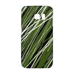 Green decorative pattern Galaxy S6 Edge