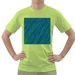 Green pattern Green T-Shirt