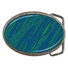 Green pattern Belt Buckles