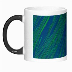 Green Pattern Morph Mugs