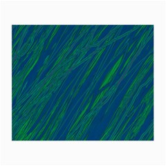 Green pattern Small Glasses Cloth