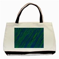 Green pattern Basic Tote Bag