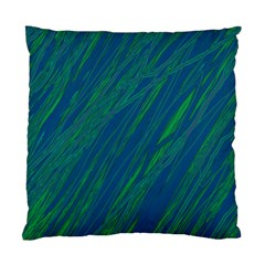 Green pattern Standard Cushion Case (Two Sides)