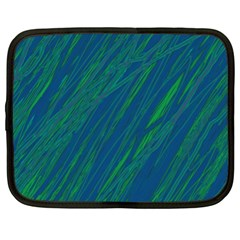 Green pattern Netbook Case (XL)