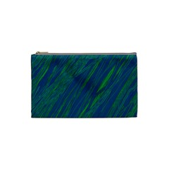 Green pattern Cosmetic Bag (Small)