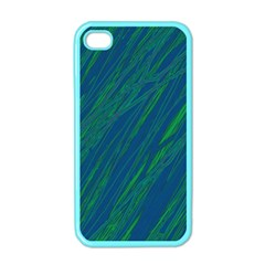 Green pattern Apple iPhone 4 Case (Color)