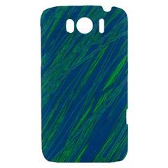 Green pattern HTC Sensation XL Hardshell Case