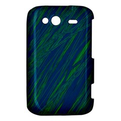 Green pattern HTC Wildfire S A510e Hardshell Case