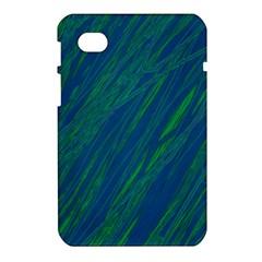 Green pattern Samsung Galaxy Tab 7  P1000 Hardshell Case