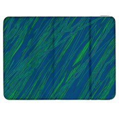 Green pattern Samsung Galaxy Tab 7  P1000 Flip Case