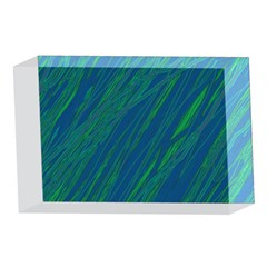 Green pattern 4 x 6  Acrylic Photo Blocks