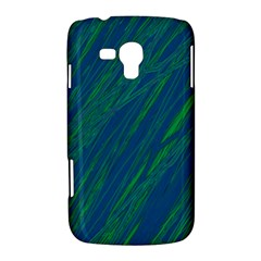 Green pattern Samsung Galaxy Duos I8262 Hardshell Case
