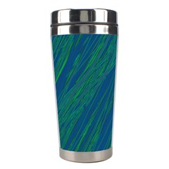 Green pattern Stainless Steel Travel Tumblers