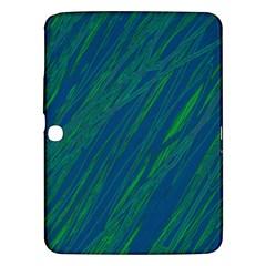 Green pattern Samsung Galaxy Tab 3 (10.1 ) P5200 Hardshell Case