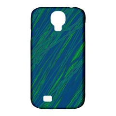 Green pattern Samsung Galaxy S4 Classic Hardshell Case (PC+Silicone)
