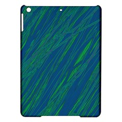 Green pattern iPad Air Hardshell Cases