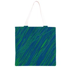 Green pattern Grocery Light Tote Bag
