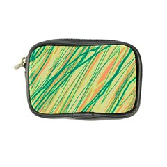 Green and orange pattern Coin Purse