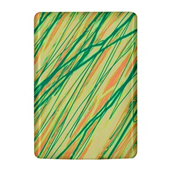 Green and orange pattern Kindle 4