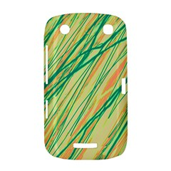 Green and orange pattern BlackBerry Curve 9380